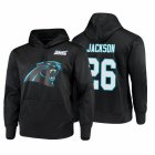 Cheap Carolina Panthers #26 Donte Jackson Nike NFL 100 Primary Logo Circuit Name & Number Pullover Hoodie Black