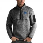 Cheap Toronto Maple Leafs Antigua Fortune Quarter-Zip Pullover Jacket Charcoal