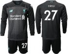 Cheap Liverpool #27 Origi Third Long Sleeves Soccer Club Jersey