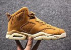 Cheap Womens Air Jordan 6 Retro Shoes Wheat/Tan