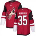 Cheap Adidas Coyotes #35 Darcy Kuemper Maroon Home Authentic Stitched NHL Jersey