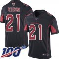 Cheap Nike Cardinals #21 Patrick Peterson Black Men's Stitched NFL Limited Rush 100th Season Jersey
