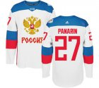 Cheap Team Russia #27 Artemi Panarin White 2016 World Cup Stitched NHL Jersey