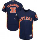 Cheap Astros #35 Justin Verlander Navy Blue Flexbase Authentic Collection 2019 World Series Bound Stitched MLB Jersey