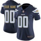 Cheap Nike San Diego Chargers Customized Navy Blue Team Color Stitched Vapor Untouchable Limited Women's NFL Jersey