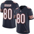 Cheap Nike Bears #80 Jimmy Graham Navy Blue Team Color Youth Stitched NFL Vapor Untouchable Limited Jersey