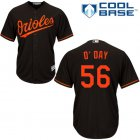 Cheap Orioles #56 Darren O'Day Black Cool Base Stitched Youth MLB Jersey