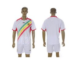 Cheap Mali Blank White Home Soccer Country Jersey