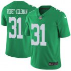 Cheap Nike Eagles #31 Nickell Robey-Coleman Green Men's Stitched NFL Limited Rush Jersey