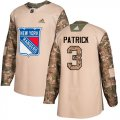Cheap Adidas Rangers #3 James Patrick Camo Authentic 2017 Veterans Day Stitched NHL Jersey