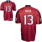 Cheap Texans #13 T.J. Yates Red Stitched NFL Jersey