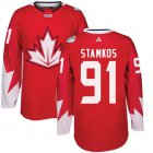 Cheap Team Canada #91 Steven Stamkos Red 2016 World Cup Stitched Youth NHL Jersey