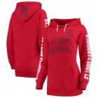 Cheap St. Louis Cardinals G-III 4Her by Carl Banks Women's Extra Innings Pullover Hoodie Red