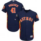 Cheap Astros #41 Brad Peacock Navy Blue Flexbase Authentic Collection 2019 World Series Bound Stitched MLB Jersey