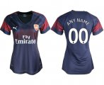 Cheap Women's Arsenal Personalized Away Soccer Club Jersey