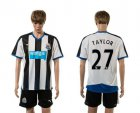 Cheap Newcastle #27 Taylor Home Soccer Club Jersey