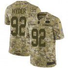 Cheap Nike 49ers #92 Kerry Hyder Camo Youth Stitched NFL Limited 2018 Salute To Service Jersey
