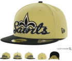 Cheap New Orleans Saints fitted hats 06