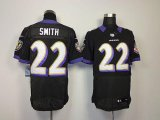 Cheap Nike Ravens #22 Jimmy Smith Black Alternate Men's Stitched NFL Elite Jersey