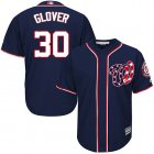 Cheap Nationals #30 Koda Glover Navy Blue New Cool Base Stitched MLB Jersey
