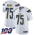 Cheap Nike Chargers #75 Bryan Bulaga White Youth Stitched NFL 100th Season Vapor Untouchable Limited Jersey