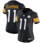 Cheap Nike Steelers #11 Chase Claypool Black Team Color Women's Stitched NFL Vapor Untouchable Limited Jersey