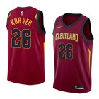 Cheap Men's Nike Cavaliers #26 Kyle Korver Red Stitched NBA Swingman Jersey