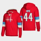 Cheap Washington Capitals #44 Brooks Orpik Red adidas Lace-Up Pullover Hoodie
