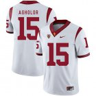 Cheap USC Trojans 15 Nelson Agholor White College Football Jersey