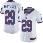 Cheap Nike Giants #29 Xavier McKinney White Women's Stitched NFL Limited Rush Jersey