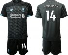 Cheap Liverpool #14 Henderson Third Soccer Club Jersey