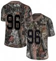Cheap Nike Eagles #96 Derek Barnett Camo Men's Stitched NFL Limited Rush Realtree Jersey