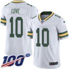 Cheap Nike Packers #10 Jordan Love White Youth Stitched NFL 100th Season Vapor Untouchable Limited Jersey