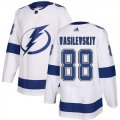 Cheap Adidas Lightning #88 Andrei Vasilevskiy White Road Authentic Stitched Youth NHL Jersey