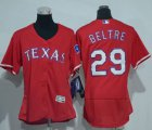 Cheap Rangers #29 Adrian Beltre Red Flexbase Authentic Women's Stitched MLB Jersey