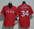 Cheap Rangers #34 Nolan Ryan Red Cool Base Stitched Youth MLB Jersey