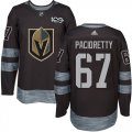 Cheap Adidas Golden Knights #67 Max Pacioretty Black 1917-2017 100th Anniversary Stitched NHL Jersey