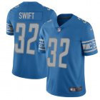 Cheap Nike Lions #32 D'Andre Swift Blue Team Color Youth Stitched NFL Vapor Untouchable Limited Jersey