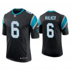 Cheap Men's Carolina Panthers #6 P.J. Walker Vapor Limited Black Nike Jersey