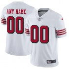 Cheap Nike San Francisco 49ers Customized White Rush Stitched Vapor Untouchable Limited Men's NFL Jersey