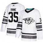 Cheap Adidas Predators #35 Pekka Rinne White Authentic 2019 All-Star Stitched Youth NHL Jersey