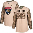 Cheap Adidas Panthers #68 Mike Hoffman Camo Authentic 2017 Veterans Day Stitched Youth NHL Jersey
