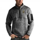 Cheap Vegas Golden Knights Antigua Fortune Quarter-Zip Pullover Jacket Charcoal