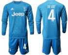 Cheap Juventus #4 De Ligt Third Long Sleeves Soccer Club Jersey