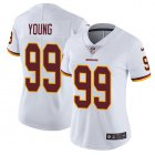 Cheap Nike Redskins #99 Chase Young White Women's Stitched NFL Vapor Untouchable Limited Jersey