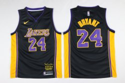 Cheap Lakers 24 kobe Bryant Black Mamba Nike Swingman Jersey