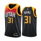 Cheap Nike Jazz #31 Georges Niang Black NBA Swingman 2020-21 City Edition Jersey