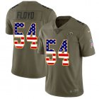 Cheap Nike Rams #54 Leonard Floyd Olive/USA Flag Youth Stitched NFL Limited 2017 Salute To Service Jersey