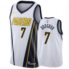 Cheap Nike Pacers #7 Malcolm Brogdon White NBA Swingman Earned Jersey