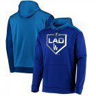 Cheap Los Angeles Dodgers Majestic 2019 Postseason Dugout Authentic Pullover Hoodie Royal